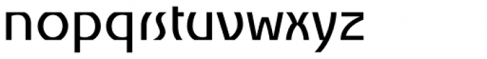 Churchward Alien Medium Font LOWERCASE