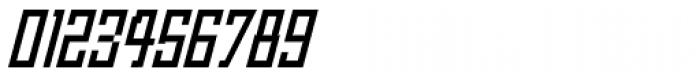 Churchward Asia Italic Font OTHER CHARS