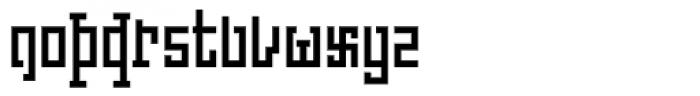 Churchward Asia Font LOWERCASE