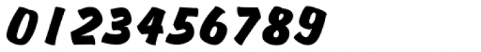 Churchward Brush D Italic Font OTHER CHARS