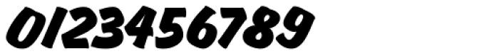 Churchward Brush Italic Font OTHER CHARS