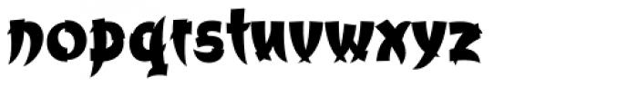 Churchward Chinatype Ex Bold Font LOWERCASE