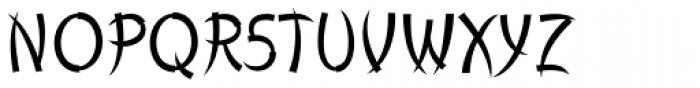 Churchward Chinatype Light Font UPPERCASE