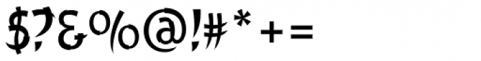Churchward Chinatype Font OTHER CHARS