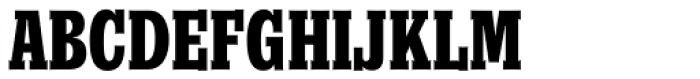 Churchward Conserif Bold Font UPPERCASE