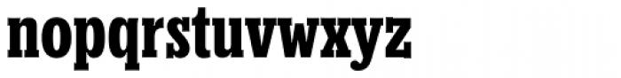 Churchward Conserif Bold Font LOWERCASE