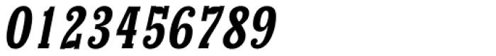 Churchward Conserif Italic Font OTHER CHARS