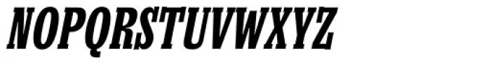 Churchward Conserif Italic Font UPPERCASE