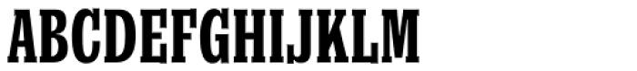 Churchward Conserif Font UPPERCASE