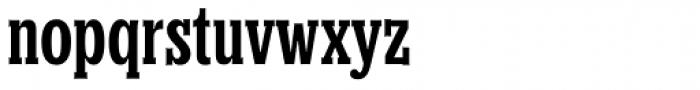 Churchward Conserif Font LOWERCASE