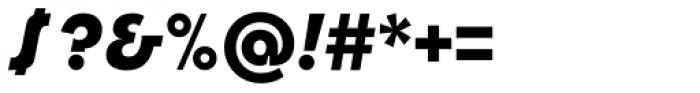 Churchward Design Bold Italic Font OTHER CHARS