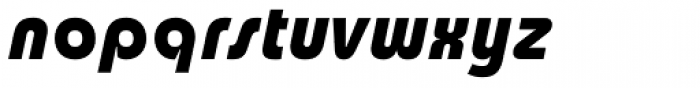 Churchward Design Bold Italic Font LOWERCASE