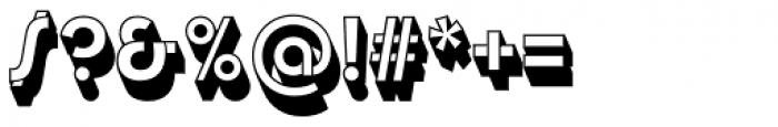 Churchward Design Rev Shadow Font OTHER CHARS
