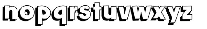 Churchward Freedom LBShadow Font LOWERCASE