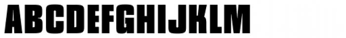 Churchward Heading ExtraBold Font UPPERCASE