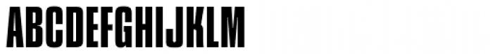 Churchward Heading Medium Font UPPERCASE