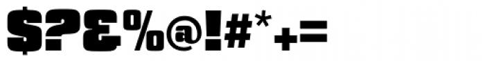 Churchward Heading UltraBold Font OTHER CHARS