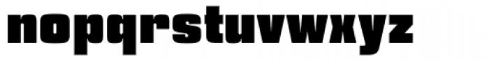 Churchward Heading UltraBold Font LOWERCASE