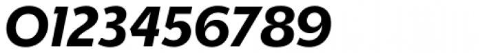 Churchward Legible Bold Italic Font OTHER CHARS