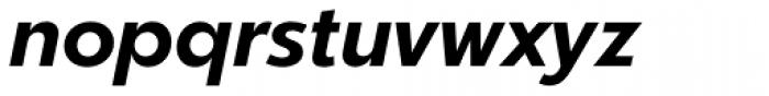 Churchward Legible Bold Italic Font LOWERCASE