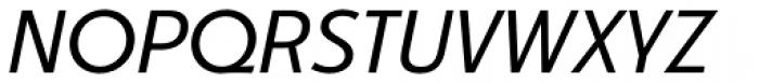 Churchward Legible Book Italic Font UPPERCASE