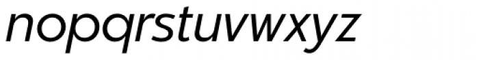 Churchward Legible Book Italic Font LOWERCASE