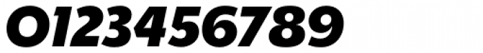 Churchward Legible ExtraBold Italic Font OTHER CHARS