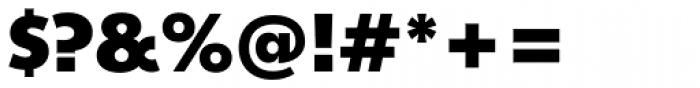 Churchward Legible ExtraBold Font OTHER CHARS