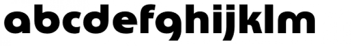 Churchward Lorina Black Font LOWERCASE