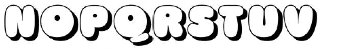Churchward Marianna Shadow Font UPPERCASE