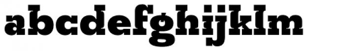 Churchward Montezuma Black Font LOWERCASE
