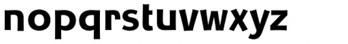 Churchward Samoa Bold Font LOWERCASE
