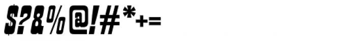 Churchward Tua Italic Font OTHER CHARS