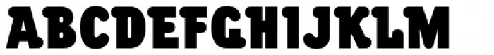 Chwast Buffalo Std Black Condensed Font UPPERCASE