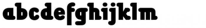 Chwast Buffalo Std Black Condensed Font LOWERCASE