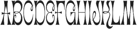 Cica Condensed Regular otf (400) Font UPPERCASE