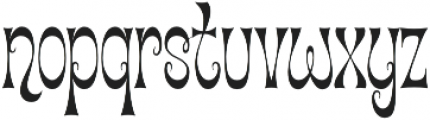 Cica Condensed Regular otf (400) Font LOWERCASE