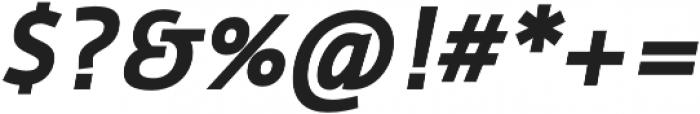 Cielo Bold Italic otf (700) Font OTHER CHARS