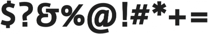 Cielo Bold otf (700) Font OTHER CHARS