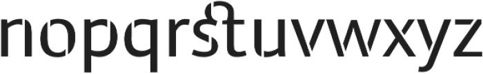 Cielo Stencil otf (400) Font LOWERCASE