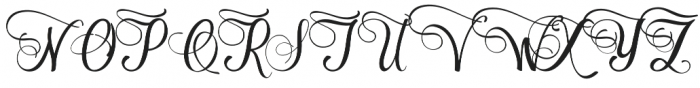 Cimochi Regular otf (400) Font UPPERCASE