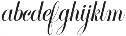 Cimochi Regular otf (400) Font LOWERCASE