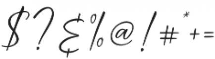 Cindoy Script Regular otf (400) Font OTHER CHARS