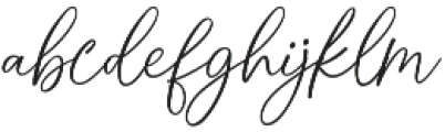 Cindoy Script Regular otf (400) Font LOWERCASE
