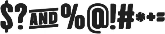 Cinematografica Heavy otf (800) Font OTHER CHARS