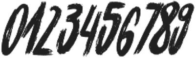 Cinesta Slant Regular Slant otf (400) Font OTHER CHARS