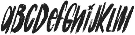Cinesta Slant Regular Slant otf (400) Font LOWERCASE