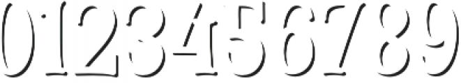 Cinnamon Peach Serif Shadow otf (400) Font OTHER CHARS