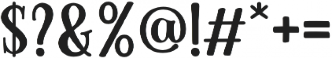 Cinnamon Peach Serif otf (400) Font OTHER CHARS