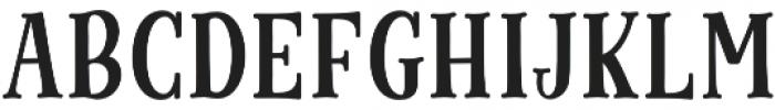 Cinnamon Peach Serif otf (400) Font LOWERCASE